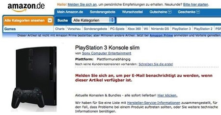 buy ps3 slim from amazon
