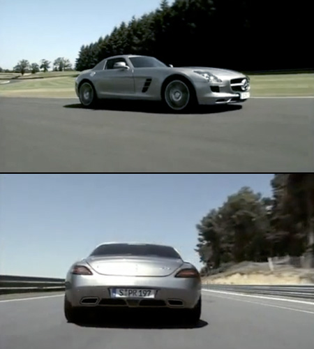 Merecedes-Benz SLS in Real Pictures
